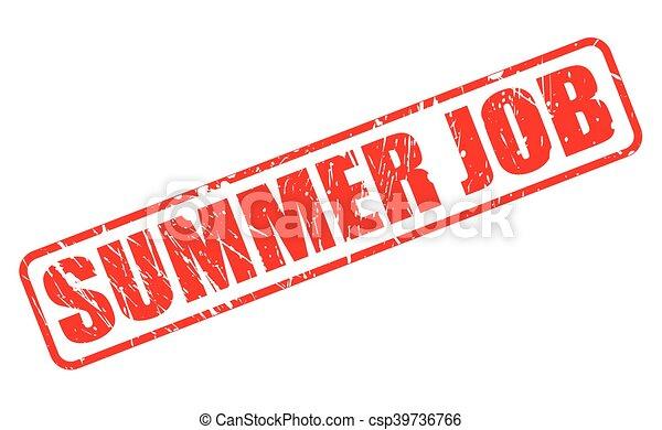 summer jobs