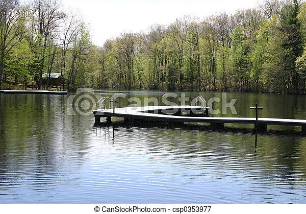 Summer Lake - csp0353977