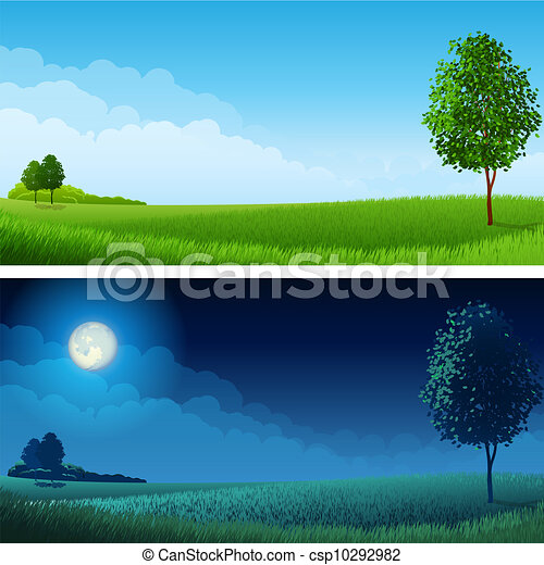 Summer landscape - csp10292982