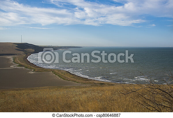 Summer landscape in Crimea - csp80646887