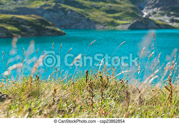 Summer landscape in the mountains - csp23862854