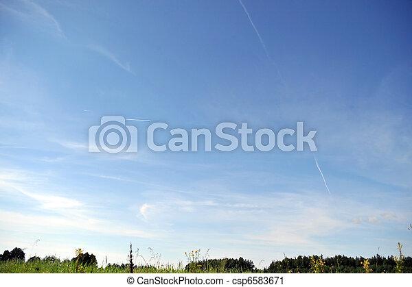 summer landscape - csp6583671