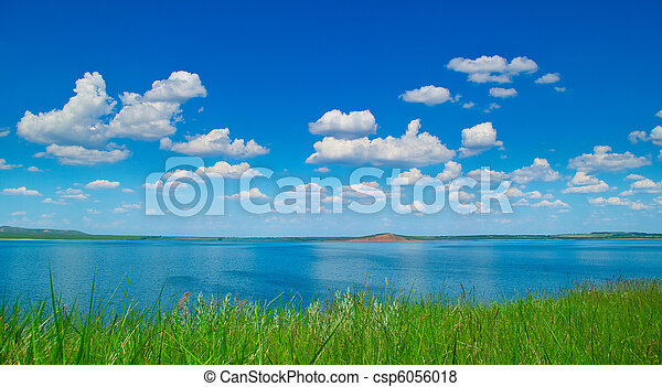 Summer landscape - csp6056018