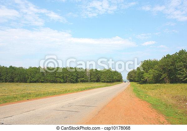 Summer landscape - csp10178068