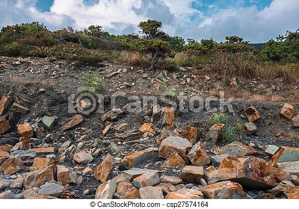 Summer landscape - csp27574164