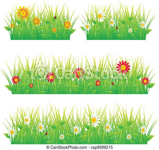 Summer meadow beautiful - csp9589215