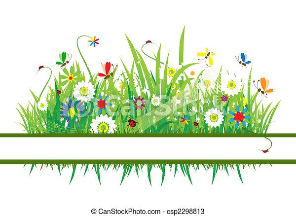 Summer meadow beautiful - csp2298813