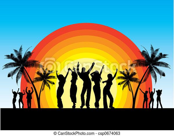 Summer party - csp0674063