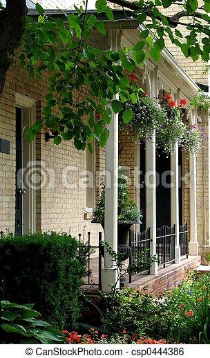 Summer Porch 02 - csp0444386