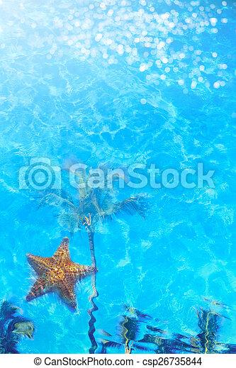 Summer resort beach - csp26735844
