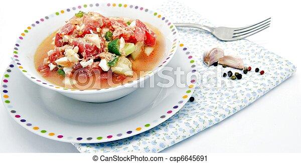 Summer salad - csp6645691