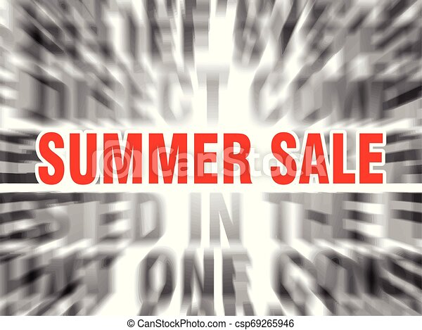 summer sale - csp69265946