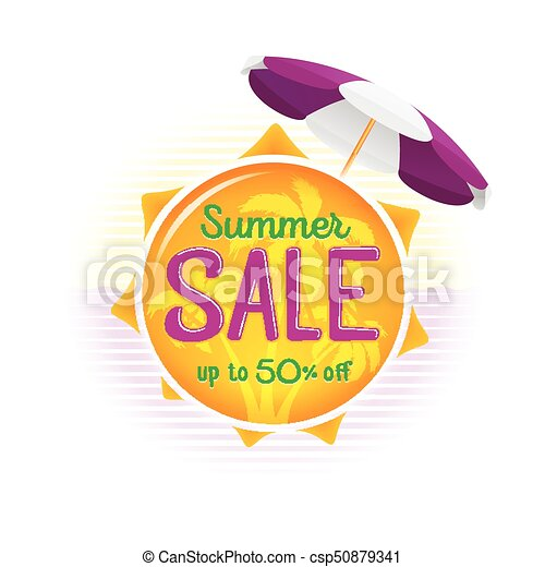 Summer Sale Label Price Tag Banner Badge Template Sticker  Eps