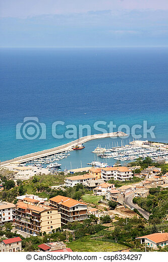 Summer sea landscape - csp6334297