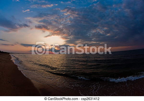 summer sea - csp2631412