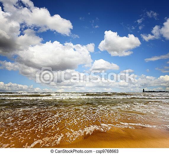 Summer sea - csp9768663