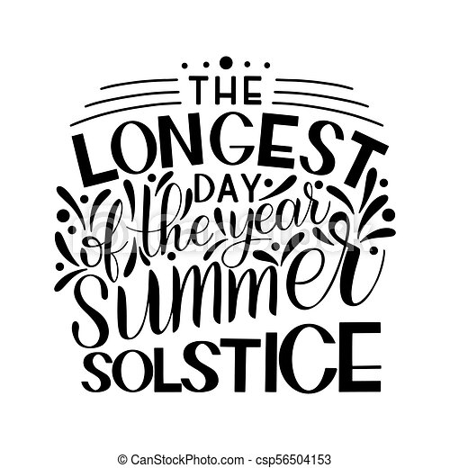 Summer solstice lettering elements for invitations clipart summer solstice lettering csp56504153 stopboris Image collections