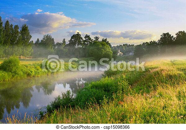summer sunrise - csp15098366