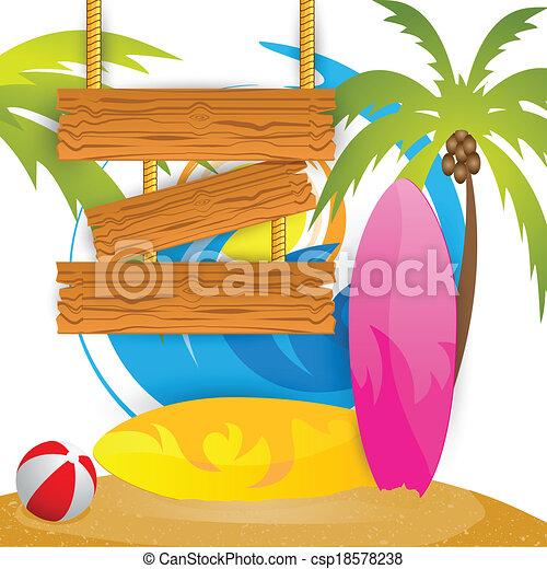 Summer Surfing Camp - csp18578238