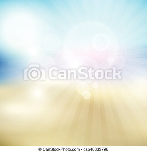 summer themed blur background 3105 - csp48833796