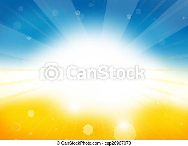 Summer Time Background Design - csp26967070