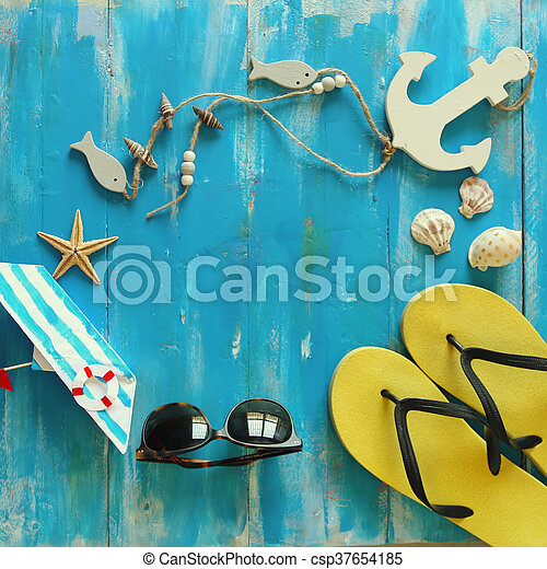 Summer time photo - csp37654185
