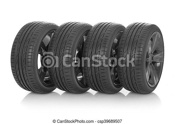Summer tires - csp39689507