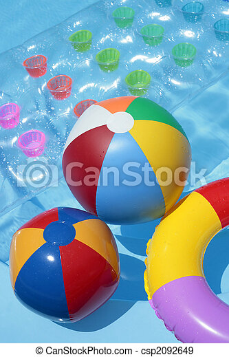 swimming pool beach ball background. Summer Toy Background - Csp2092649 Swimming Pool Beach Ball Background T