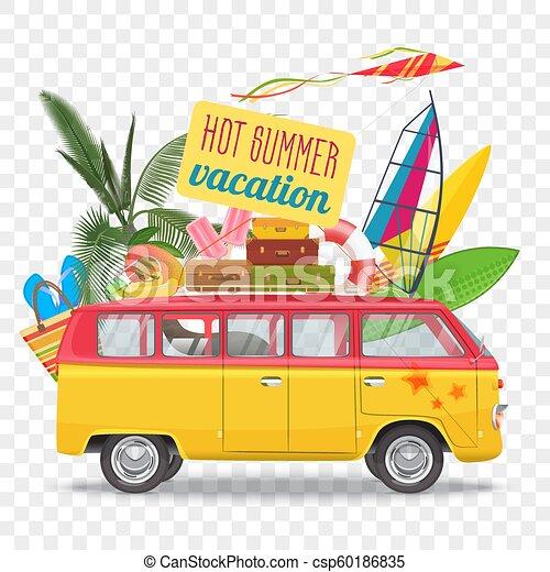 Summer Travel Clip Art