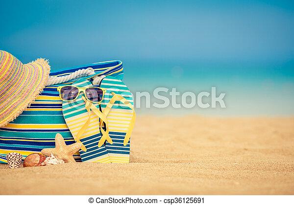 Summer vacation concept - csp36125691