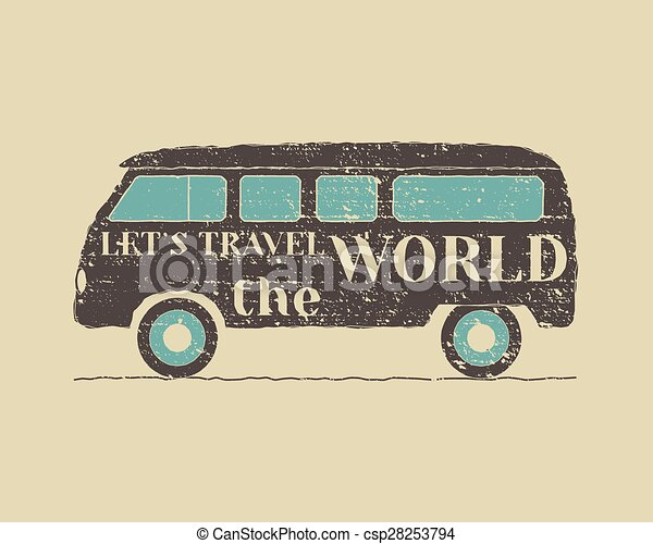 Summer Vintage Camp Travel Poster Rv Motorhome Badge And Logo Template Outdoor Activity