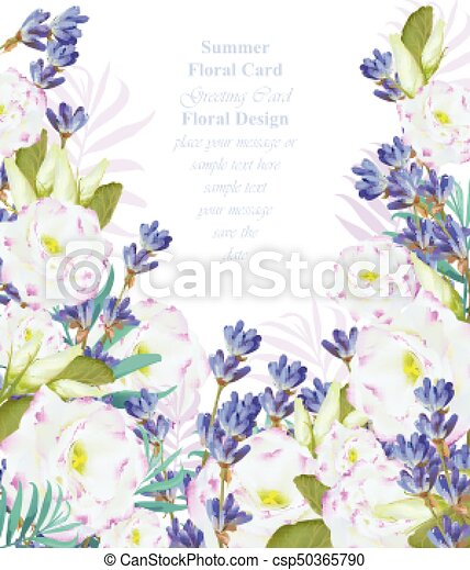 Summer watercolor flowers vector beauty invitation card backgrounds summer watercolor flowers vector beauty invitation card background stopboris Image collections
