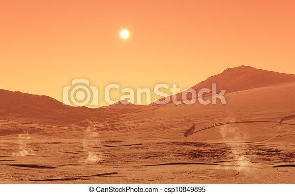 summerday, mars - csp10849895
