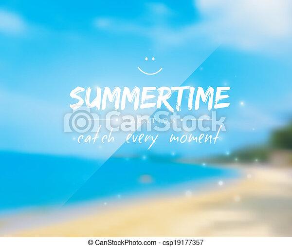 Summertime background - csp19177357