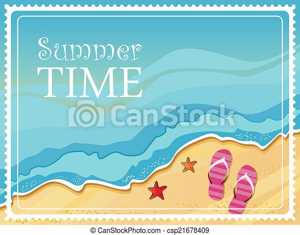 Summertime - csp21678409