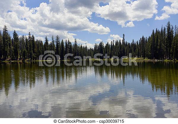 Summit Lake Lassen National Park - csp30039715