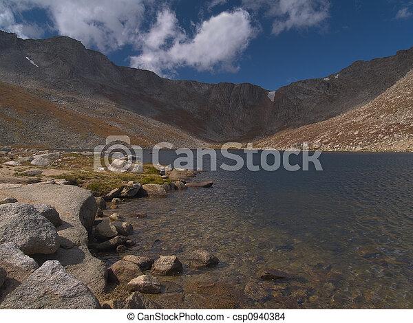 Summit Lake Shore - csp0940384