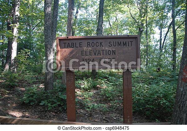 Summit Sign - csp6948475