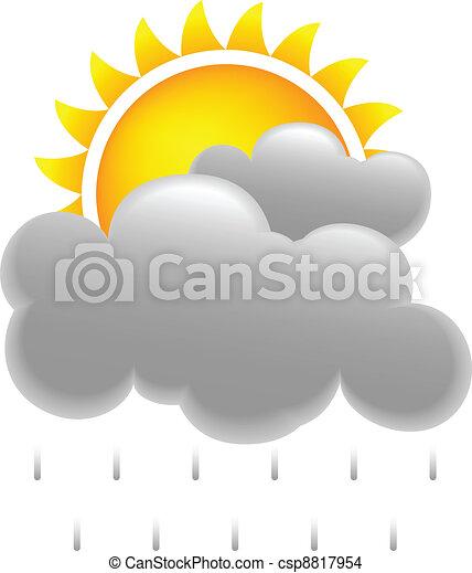 Sun and Rain - csp8817954
