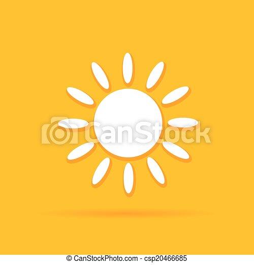 sun art color vector - csp20466685