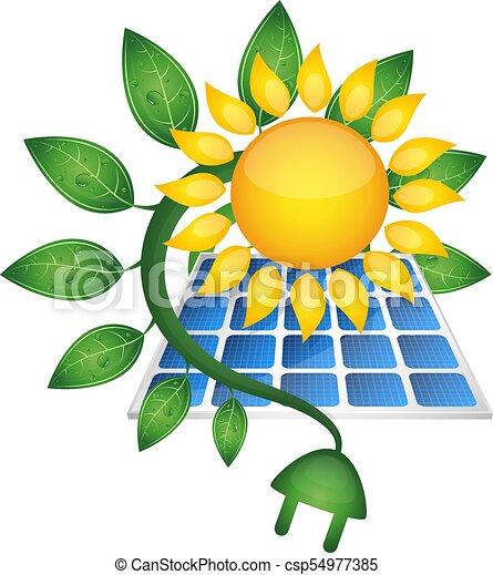 Sun bio electricity