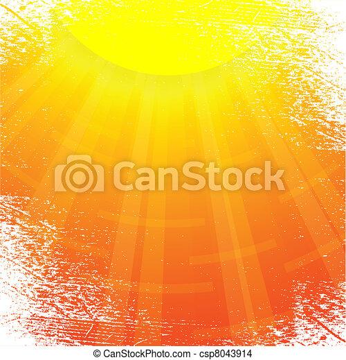 Sun. - csp8043914