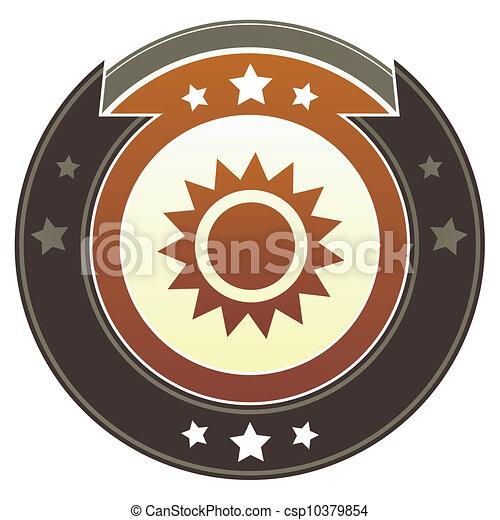 Sun imperial button - csp10379854
