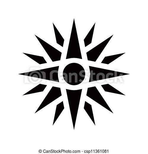 Sun Of Vergina Graphical Representation Of An Ancient Greek Symbol