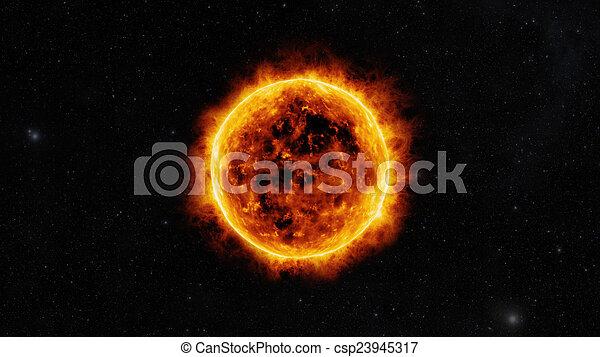 Sun surface - csp23945317