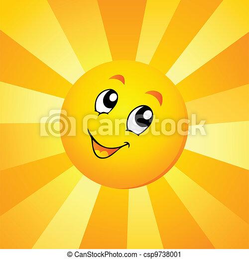Sun theme image 7 - csp9738001