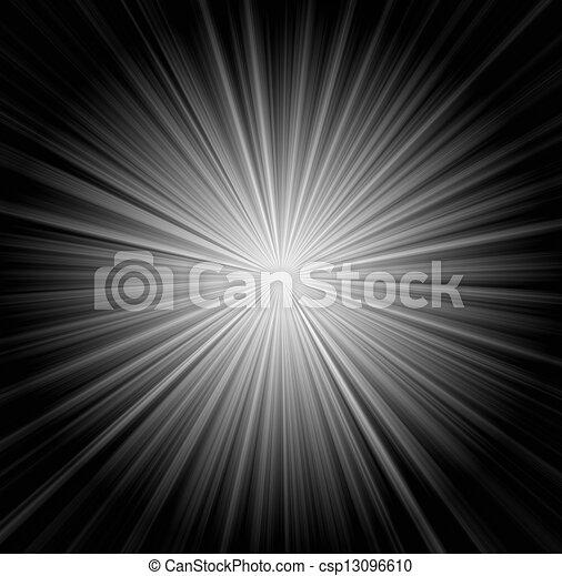 sunbeams, achtergrond, starburst - csp13096610