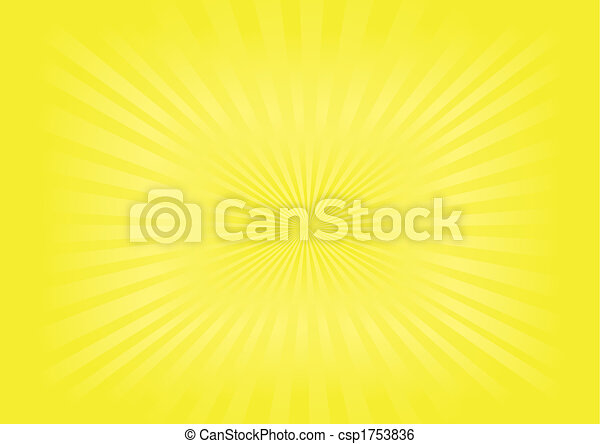 sunburst, イメージ, ベクトル, - - csp1753836