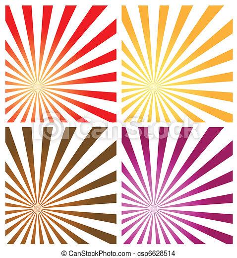 sunburst background vector format easy to edit with eps vector rh canstockphoto co uk sunburst clipart vector red sunburst clipart