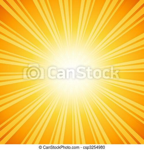 sunburst, bakgrund - csp3254980